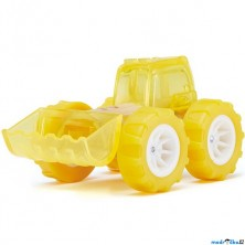 Auto - Autíčko mini Bulldozer žluté (Hape)