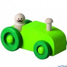 Auto - Autíčko, zelený traktor (Detoa)