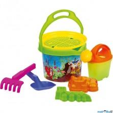 Hračky na písek - Set s krtkem, 7ks (Bino)