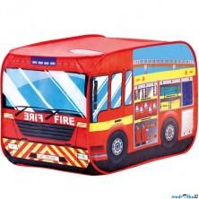 Dětský domeček - Stan hasičské auto (Bino)