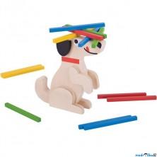 Motorická hra - Kolik pes unese? (Bigjigs)