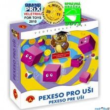 Pexeso zvukové - Pexeso pro uši, 16ks (Alexander)
