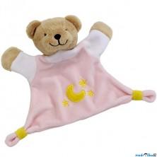 Plyšová hračka - Usínáček, Růžový medvídek ('cause)