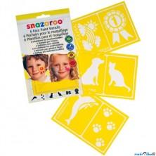 Snazaroo - Šablony na obličejové barvy 6ks, Zvířátka
