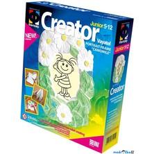 Kreativní sada - Sádrování, Foto rámeček kopretina (Legler)
