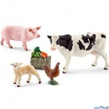 Schleich - Farma, Sada hospodářská zvířátka