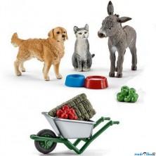 Schleich - Farma, Sada krmení na farmě se zvířátky