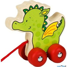 Tahací hračka - Veselý dráček (Goki)