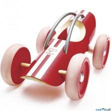 Auto - Závodní auto e-Racer Monza červené (Hape)