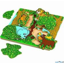 Puzzle vícevrstvé - Píkabú, 2 vrstvy (Wonderworld)