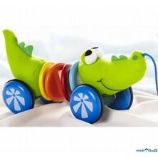 Tahací hračka - Rachtající krokodýl (Wonderworld)