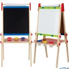 Kreslící tabule - Výškově nastavitelná, 95 až 111cm (Hape)