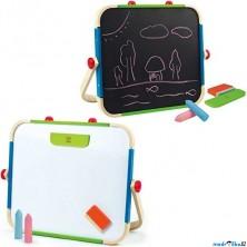 Kreslící tabule - Stolní magnetická Art Studio (Hape)