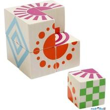 Kostky obrázkové 8ks - Puzzle kostka (Voila)