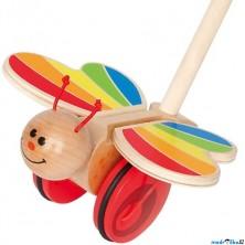 Jezdík na tyči - Motýl s mávajícími křídly (Hape)