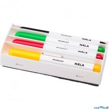 Psací potřeby - Fixy k dětské tabuli, 4ks (Ikea)
