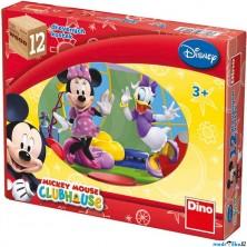 Kostky obrázkové 12ks - Mickeyho klubík (Dino)