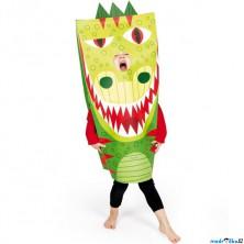 Karneval - Kostým kartónový, Drak (Janod)