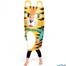 Karneval - Kostým kartónový, Tygr (Janod)