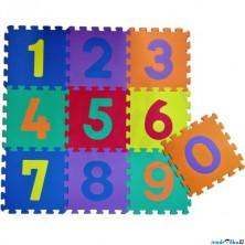 Puzzle pěnové - 30x30cm, 10ks, Čísla