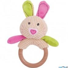 Chrastítko - Kroužek králíček Bella (Bigjigs)