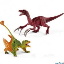 Schleich - Dinosaurus set, Dimorphodon a Therizinosaurus