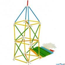 Stavebnice - Architetrix bambus, 97 dílků (Hape)