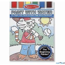 Omalovánky - Malování s vodou, Pro kluky (M&D)