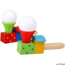 Drobné hračky - Foukání do balónků, Vlak, 1ks (Legler)