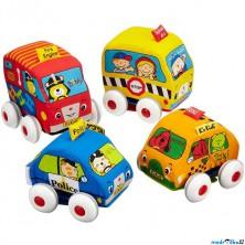 K's Kids - Látkové natahovací auto, 1ks
