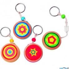 Drobné hračky - Jojo klíčenka, 1ks (Woody)