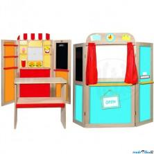 Prodejna - Kombinovaná dětská prodejna / divadlo (Woody)