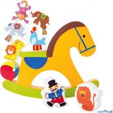 Motorická hra - Balanční houpací koník (Legler)