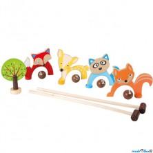 Kroket - Dětský, Lesní zvířátka (Legler)