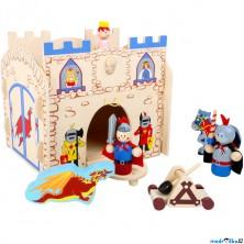 Tématický set dřevěný - Rytířský hrad (Legler)