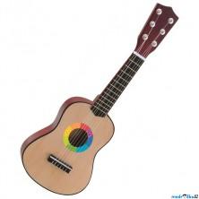 Hudba - Kytara, Dětská malá, 6 strun (Woody)