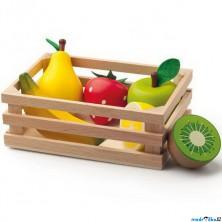 Dekorace prodejny - Přepravka s ovocem (Woody)