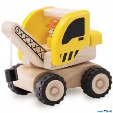 Auto - Miniworld, Autojeřáb dřevěný (Wonderworld)