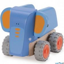 Auto - Miniworld, Sklápěč slon dřevěný (Wonderworld)