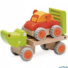 Auto - Miniworld, Tahač krokodýl dřevěný (Wonderworld)