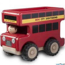 Auto - Miniworld, Vyhlídkový autobus dřevěný (Wonderworld)