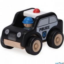 Auto - Miniworld, Hlídkové vozidlo dřevěné (Wonderworld)