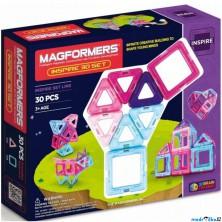 Magformers - 30 ks Pastelle