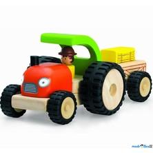Auto - Miniworld, Traktor dřevěný (Wonderworld)