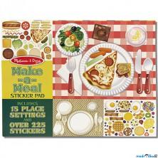 Samolepky - Vytvoř jídlo, 225ks (M&D)