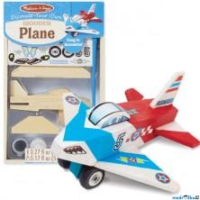 Kreativní sada - Slož si model, Letadlo (M&D)