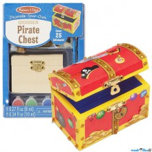 Kreativní sada - Dekorace, Pirátská truhla (M&D)