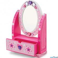 Kreativní sada - Dekorace, Šperkovnice se zrcadlem (M&D)