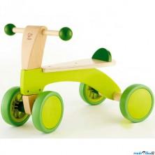 Odrážedlo - Dřevěná tříkolka zelená (Hape)