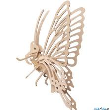 3D Puzzle přírodní - Motýl menší